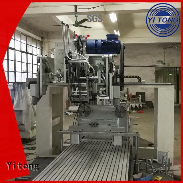 Hot toothbrush manufacturing machine drilling Yitong Brand