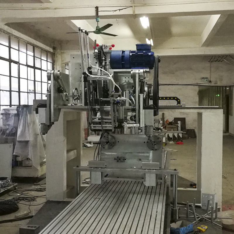 3 Axis Drilling And Filling Disk Brush Machine BHF3DF02