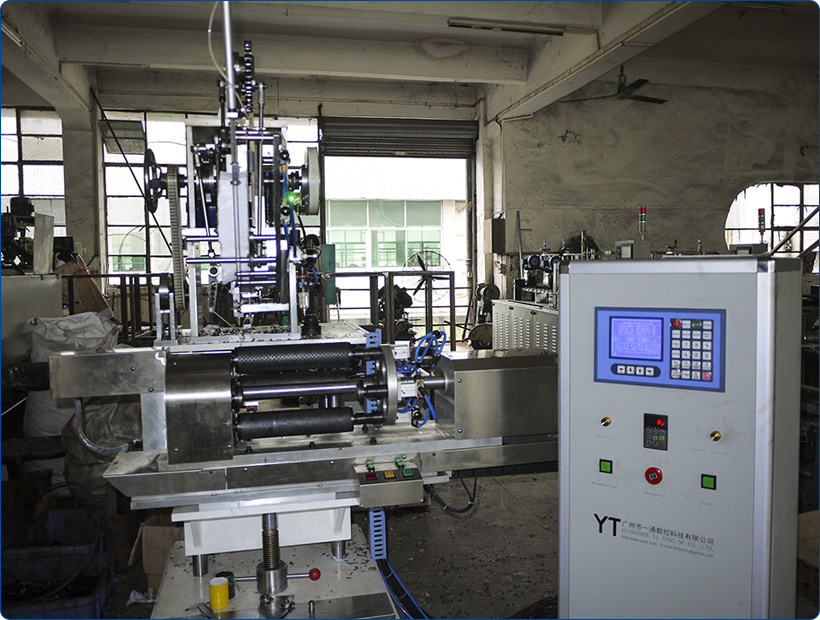 drilling automatic filling axis Yitong toothbrush manufacturing machine