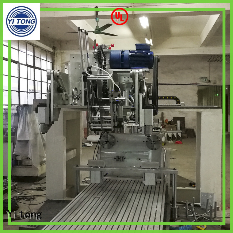 Yitong Brand automatic drilling toothbrush manufacturing machine round