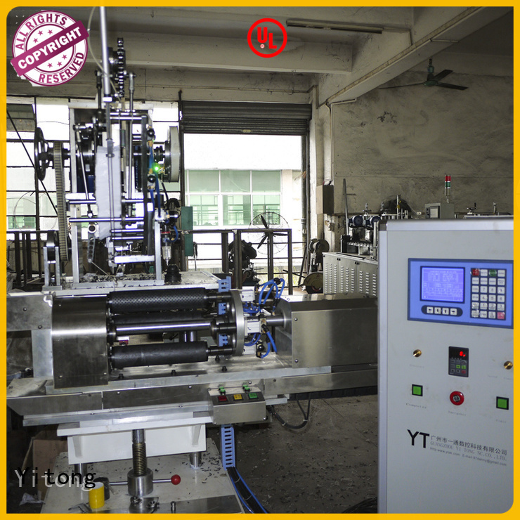 disk axis toothbrush manufacturing machine Yitong Brand
