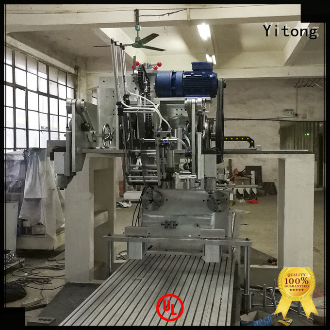 Yitong brush machine disk toothbrush manufacturing machine tufting