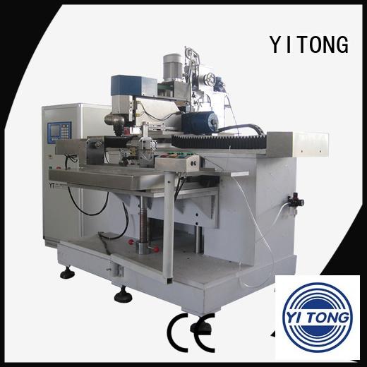 automatic drilling Yitong personal care brush machine