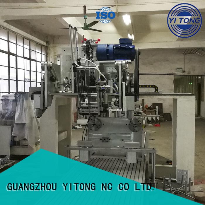 Yitong axis personal care brush machine drilling brush