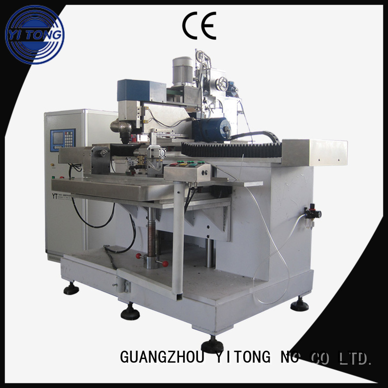 Yitong Brand tufting disk toothbrush manufacturing machine axis