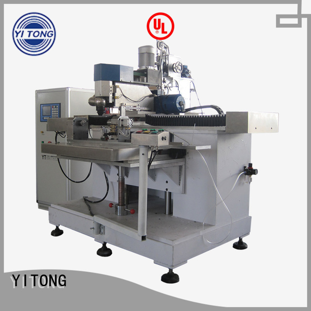 Yitong personal care brush machine drilling axis filling disk