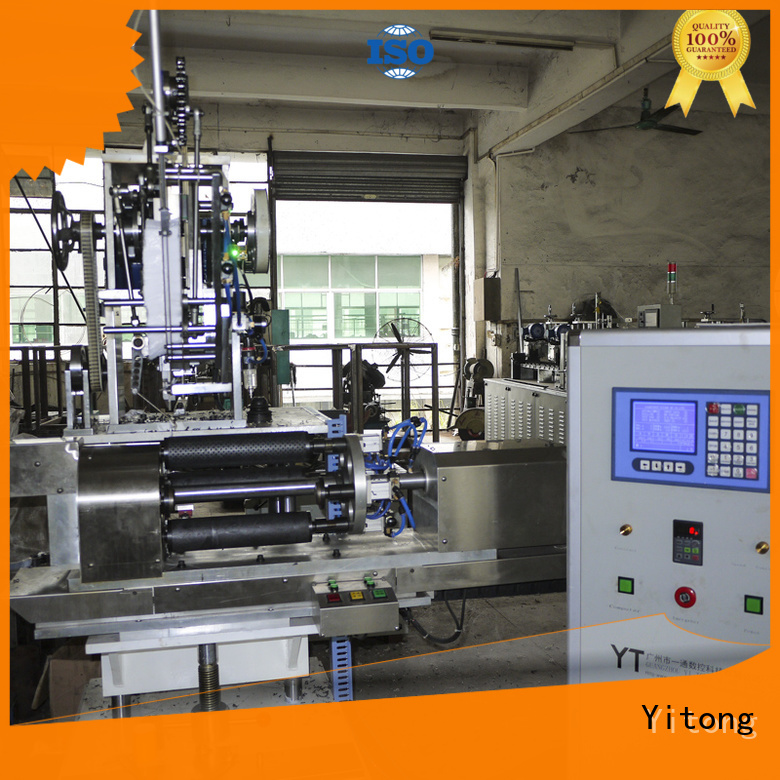 Yitong Brand brush filling axis toothbrush manufacturing machine