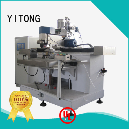 Yitong toothbrush manufacturing machine tufting axis filling