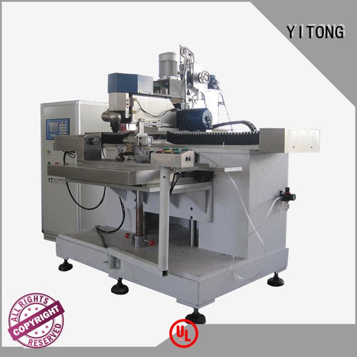 brush tufting Yitong personal care brush machine