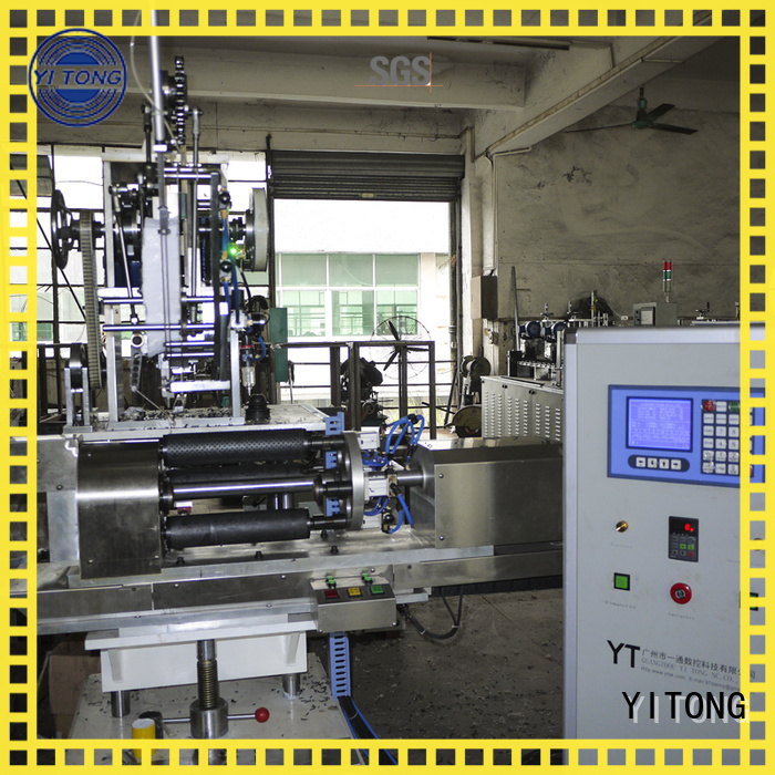 Yitong Brand disk personal care brush machine automatic factory