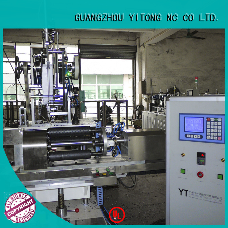 machine tufting filling round Yitong personal care brush machine