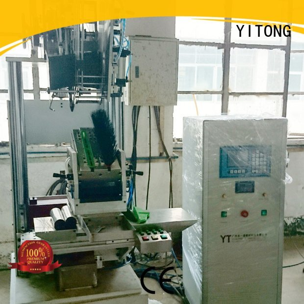 Yitong Brand brush bhf402f02 brush tufting machine axis filling