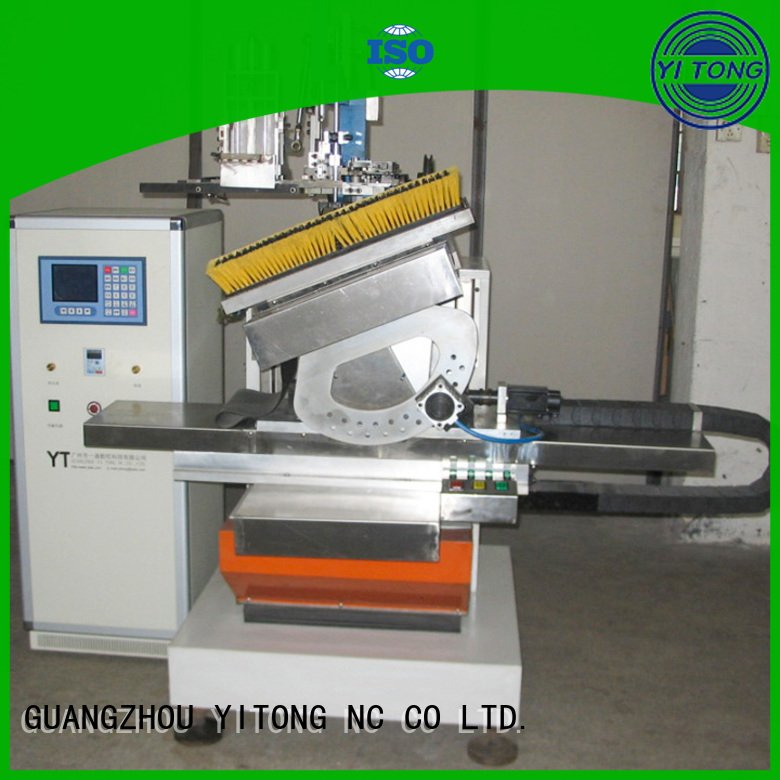 head flat filling axis Yitong paint brush manufacturing machine