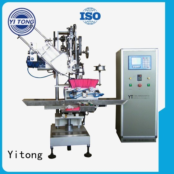 filling Custom brushes radial broom making machine Yitong drilling