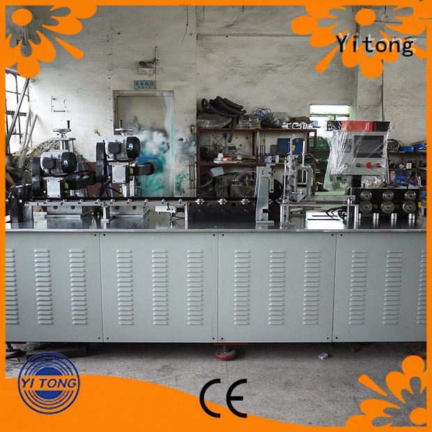 Yitong steel strip brush automatic speed brush machine