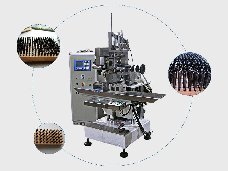 STEEL WIRE BRUSH MACHINE