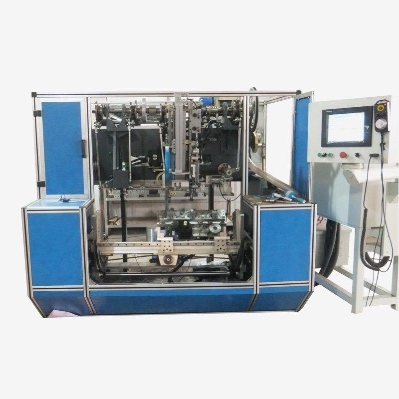 5 Axis 5 Head Automatic Flat Brushes Machine BHF506DF