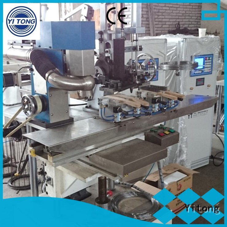 filling drilling wire industrial brush machine Yitong Brand