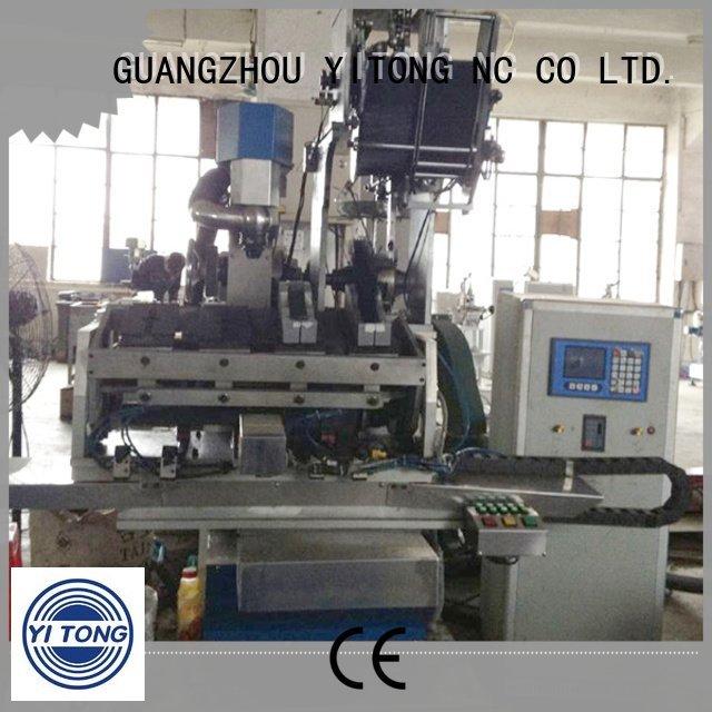 machine filling brushes head Yitong brush making machine