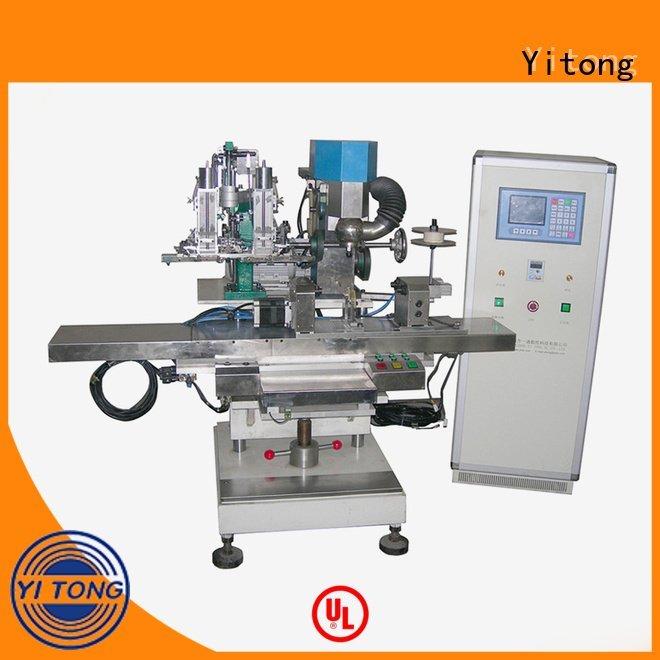 automatic drilling Yitong broom making machine