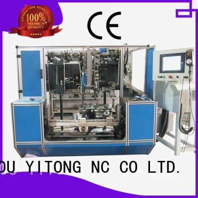 Yitong Brand drilling paint brush manufacturing machine flat brush