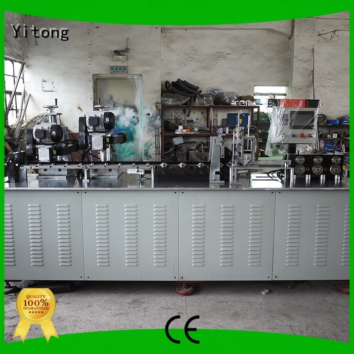 Yitong Brand automatic multifunctional speed strip brush machine manufacture