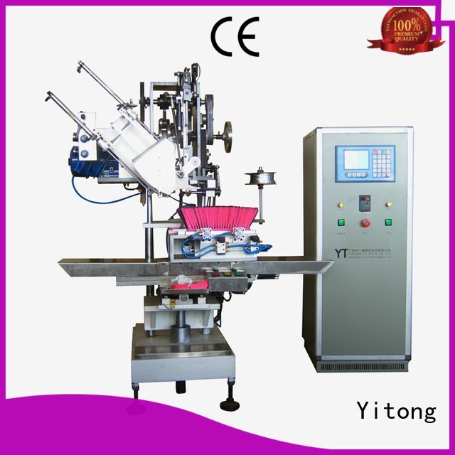Yitong filling brushes automatic broom making machine for sale radial