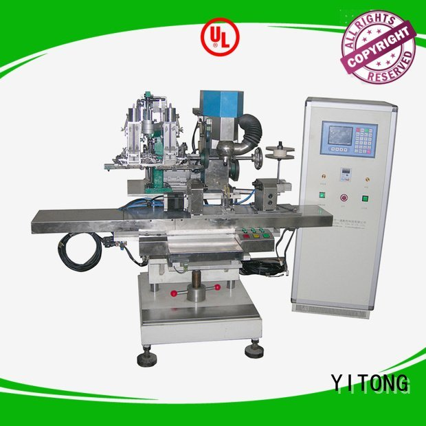 Yitong filling radial broom making machine