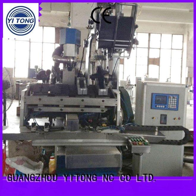 flat machine filling head Yitong brush making machine