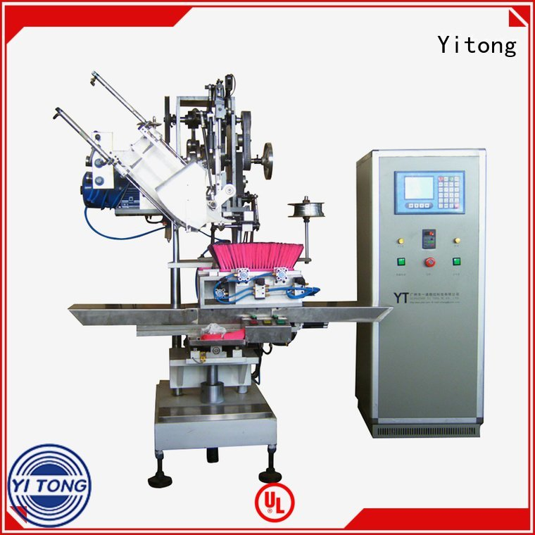 Yitong Brand automatic machine drilling broom making machine for sale