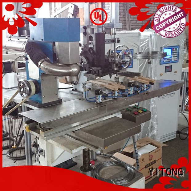 Hot wire brush machine for wood for sale filling industrial brush machine wire Yitong