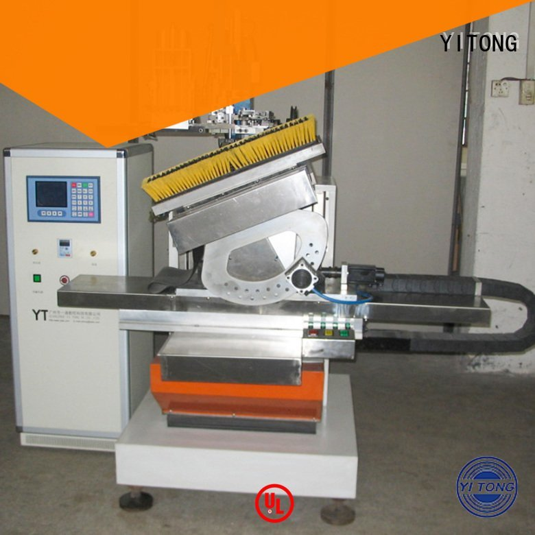 Yitong tufting brush making machine flat brush