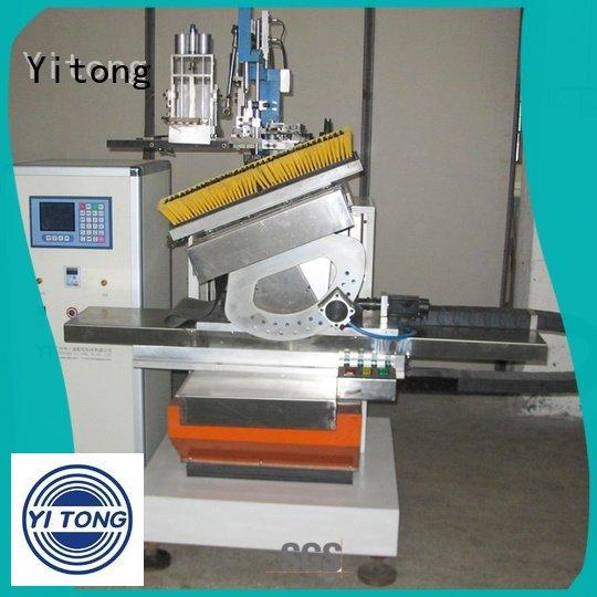 brush drilling Yitong paint brush manufacturing machine