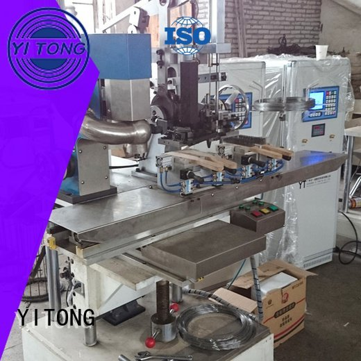 brush wire machine filling Yitong industrial brush machine