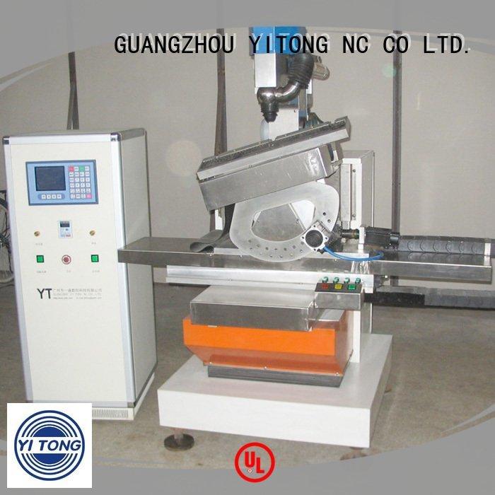 Yitong paint brush manufacturing machine axis brush head brushes