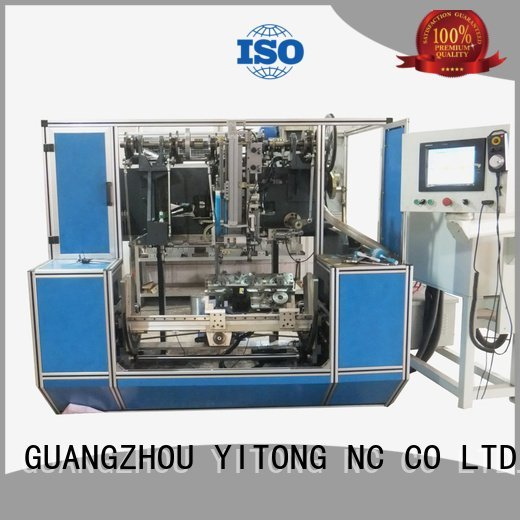 Yitong paint brush manufacturing machine filling automatic axis flat