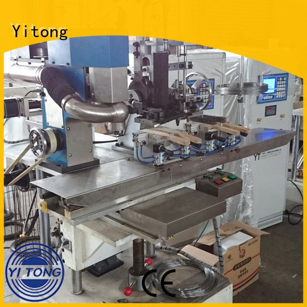 Hot wire brush machine for wood for sale brush industrial brush machine axis Yitong