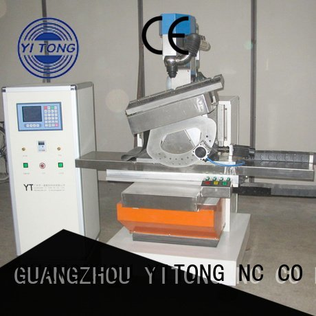 paint brush manufacturing machine drilling axis brush making machine Yitong Brand
