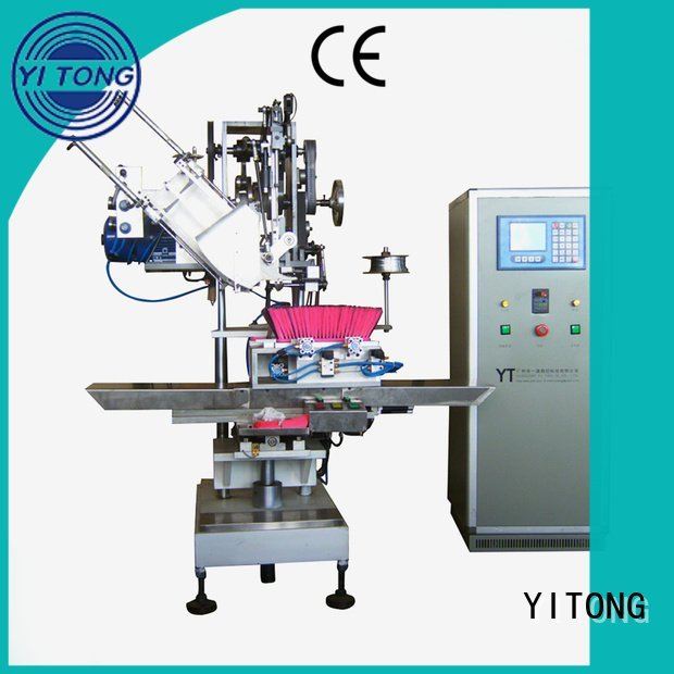 Yitong Brand brush machine broom making machine axis automatic