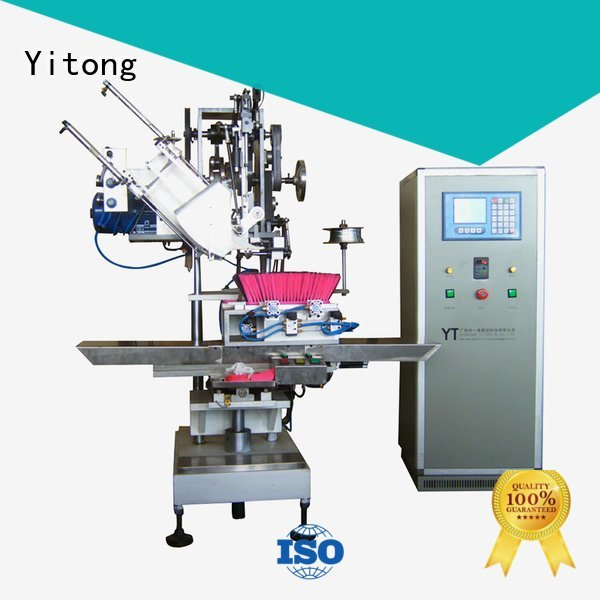 Yitong Brand brushes automatic broom making machine for sale axis machine