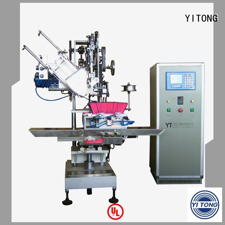 Yitong Brand automatic brush axis broom making machine