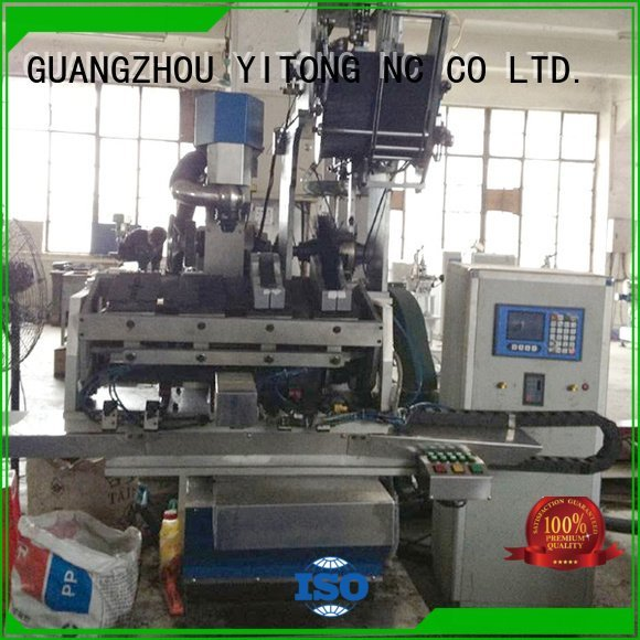 paint brush manufacturing machine drilling filling Yitong Brand