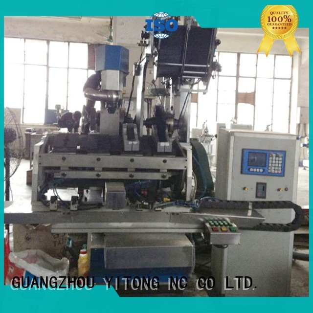flat axis paint brush manufacturing machine Yitong