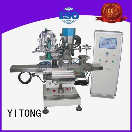 Yitong broom making machine for sale radial filling axis machine