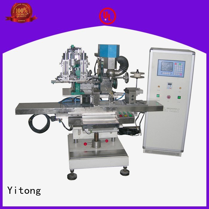 drilling automatic Yitong broom making machine for sale