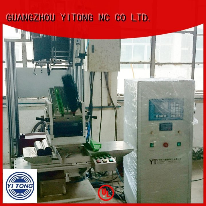 Yitong bhf402f02 axis brush tufting machine