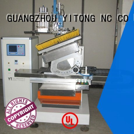 axis tufting Yitong brush making machine