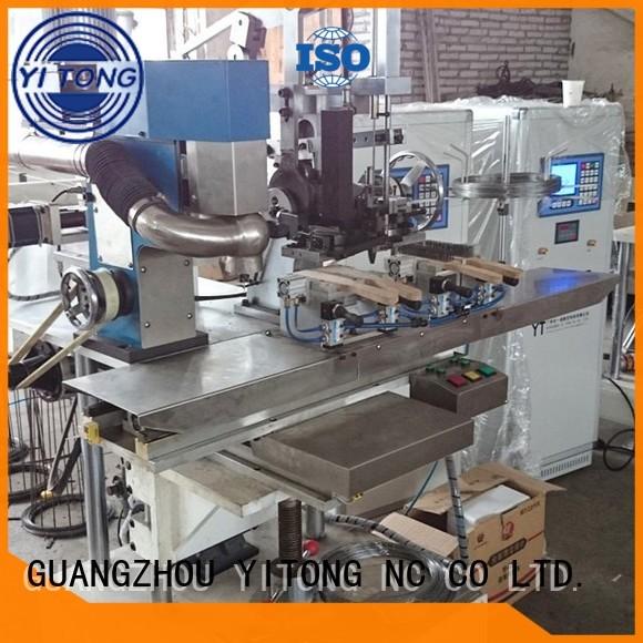 Wholesale drilling industrial brush machine Yitong Brand