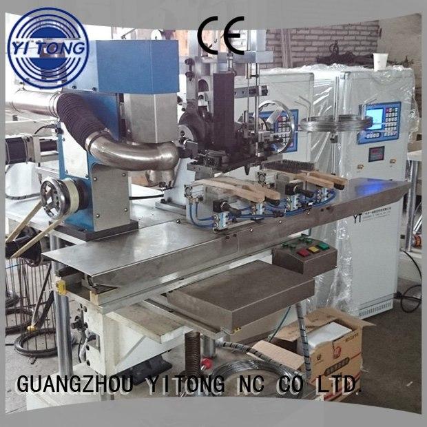 Hot wire industrial brush machine machine steel Yitong Brand