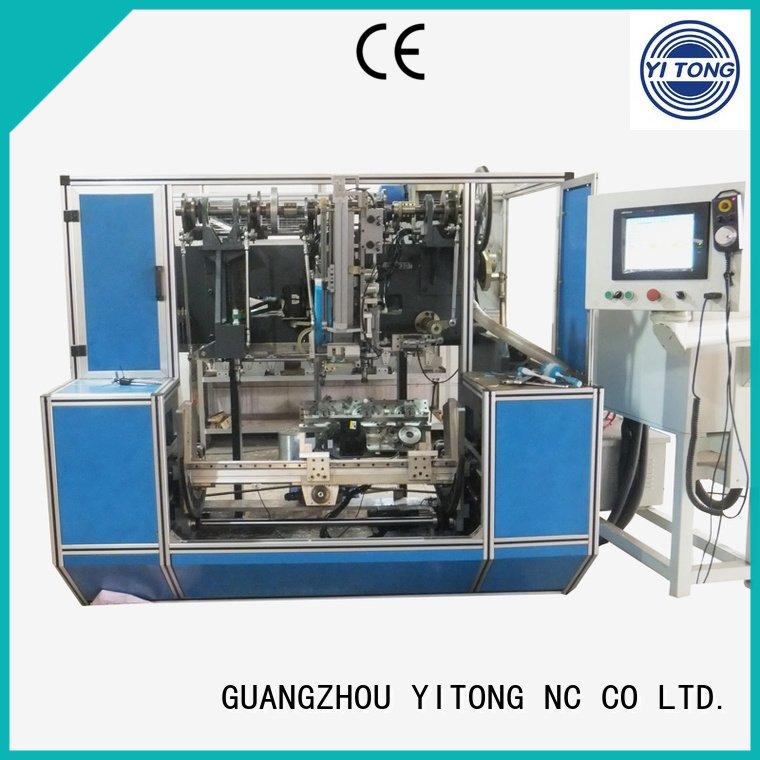 head machine brush Yitong paint brush manufacturing machine
